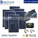 BESTSUN 6000w home adjustable solar mounts solar power system on flat roof