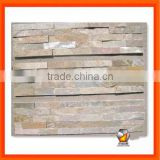 Natural Slate Stone Wall Cladding Panel Cream Oyster 014