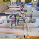 hollow wood block machine for sale / wood block cutting machine / wood pallet making machine