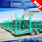 China transporter car carrier suvs 16 meters 6-10 units car trailer for vehicle transporting