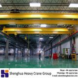 20t capacity lh model workshop lifting crane double beam trolley traveling overhead crane