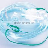 Health medical disposable nebulizer oxygen mask PVC disposable breathing mask in high quality