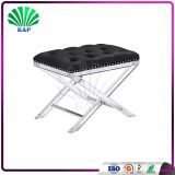 Soft Sponge Folding Stool Lucite Indoor Sofa Bench Dining Room Bench