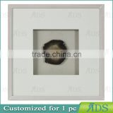 Natural Agate Shadow Box Frames Wholesale for Home Decoration