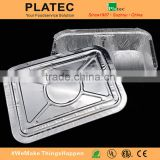 High Quality Wholesale Aluminium Foil Tray For BBQ , caking baking.