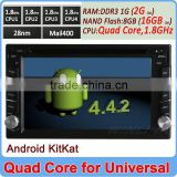 2015 Quad Core Cortex A9 Andriod 4.4 android car dvd for nissa qashqai 2G DDR3 16GB Flash