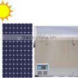 75L DC Compressor Single Cabinet Chest Freezer with Solar Power System