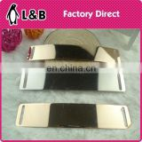 2015 decorative metal bend bar trims for dress/garments