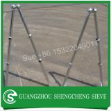 Angle mounted welded ball joint mounting handrail