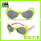 New arrival custom logo modern design low price colorful children sunglasses