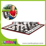 Intelligence toys children chess game play mat for adult