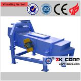 Sand vibrating screen, crushing and screening plant