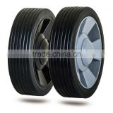 6 inch plastic wheel for trolley, garden cart, baby stroller