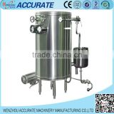 Manual coiled tube juice sterilizing machinery