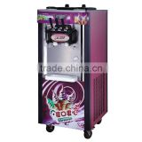 Floor standing three flavor rainbow Chinese soft ice cream machine for sale