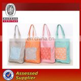 2016 eco-friendly Japanese style foldable supermarket shopping bags for women