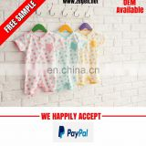 Hot sale baby romper 100% cotton