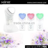 Face Lifting  2016 J-STYLE Ultrasonic Galvanic Facial Multifunctional Beauty Equipment Vascular Removal
