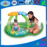 Inflatable Pool with Tent for Kids