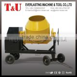 Construction Machine Move Handle 260L 350L 400L 500L 600L Portable Diesel Concrete Mixer                                                                         Quality Choice