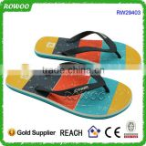 Latest Men high quality rainbow printed Men's Beach EVA Thong