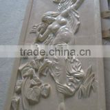 White Relief Wall Sculpture FSMP-084