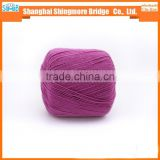 China supplier from knitted cotton yarn factory cheap wholesale cotton yarn with silk for yarns knitting