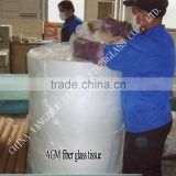 AGM fiberglass tissue separator in cutting volume