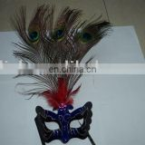 party carnival masquerade feather halloween mask MPM-074