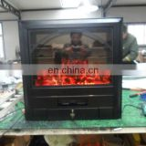 iron fireplace insert for heating and decoration