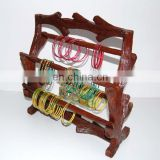 Wooden Ethnic Bangles Holder and handicrafts boxes