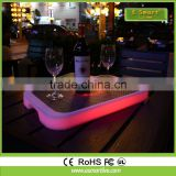 led lighting coffee led tray sofa lamp for beer