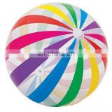 "PROMOTIONAL gift Giant Intex 42"" Inflatable beach ball Colourful strip design Jumbo ball GC007"