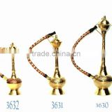 Decorative brass hookah, hookah pipe, arabic hookah, decorative metal hookah