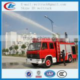 custom made 6cbm 4X2 china rescue fire truck for hot sale