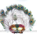 2015 Hot Sale Peacock Feather Mask