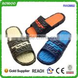 Cheap wholesale summer pvc shower slippers supplier