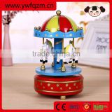 Colorful <b>music</b> <b>box</b> <b>mechanism</b>, carousel <b>music</b> <b>box</b>