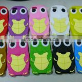 hot sale 2013 Tortoise Silicone mobile phone cover with 3D
