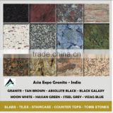 GRANITE FROM INDIA TYPES AND COLORLS