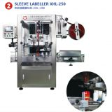 Full automatic shrink sleeve labeling machine for yogurt cup and bottles