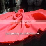 100% Polyester Coarsely knitted jersey fabric