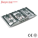 Jiaye Group Stainless steel gas hob/86cm kitchen gas stove/Built in 5 burner gas cooker JY-S5082