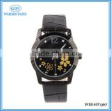 Chain <b>black</b> leather <b>strap</b> <b>watch</b>es and <b>watch</b> accessories