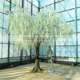 White wisteria wedding tree silk 12ft wedding/event/stage dance decor wisteria tree