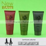 hotel shampoo and shower gel in mini plastic colorful tube 30ml