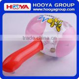 TY116682 Lovely design pink inflatable toy hammer with bell