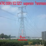 MEGATRO 500KV 5C2 SZC1 suspension Transmission tower