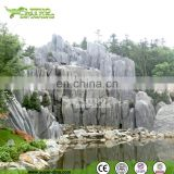 Manmade GRC Garden Ornaments Artificial Rockwork