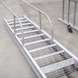 Wusheng marine gangway steel ladder for boat